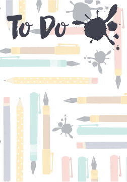 Free Printable To Do List from JulieChats.com