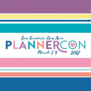 PlannerCon Event Announcement Property of officialplannercon.com designed by juliechats.com